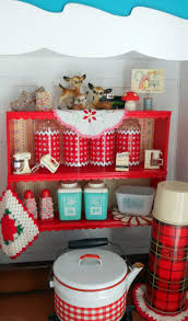 Red Canisters Kitchen Decor 374 Best Kitchen Baking Sewing Images On Pinterest Kitchen