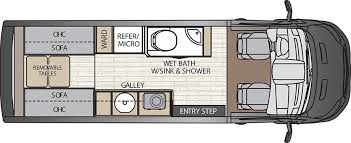 class b rv floor plans crossfit class b motorhomes by coachmen rv rv class b pinterest