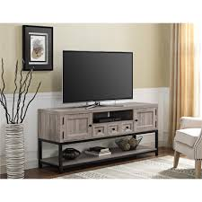 weathered oak vanity ameriwood furniture barrett mutlipurpose tv console for tvs up
