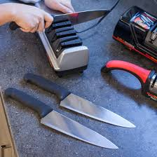 how to sharpen kitchen knives at home to sharpen kitchen knives