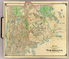Brooklyn Ny Map 1 Bronx David Rumsey Historical Map Collection