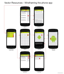 android gui designer android ui design wireframing the phone app by hsigmond on