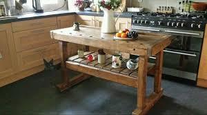 rustic kitchen island table joyous rustic kitchen island butchers block workbench prep table