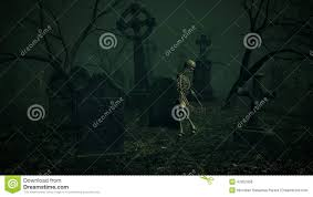 halloween animation pictures graveyard horror animation halloween death comes to life stock