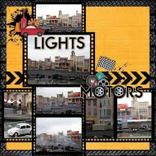 47 best disney studios scrapbook layouts images on