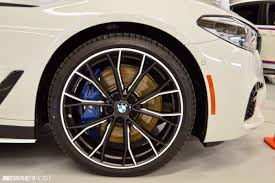 bmw m series rims g30 bmw 5 series with m performance parts looks the part