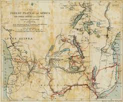 Map Of Southern Africa by Map Of The Travels Of David Livingstone In Africa Dr Livingstone