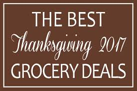 thanksgiving 2017 grocery deals make ahead meal