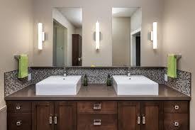 bathroom backsplash designs bathroom installing glass mosaic tile backsplash in the bathroom