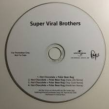 super viral brothers chocolate polar bear rug cdr at discogs