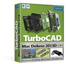 turbocad mac deluxe 2d 3d precision 2d drafting u0026 3d modelling