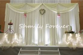 wedding event backdrop backdrop white picture more detailed picture about 2017 new