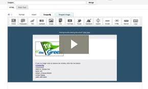 create an email template help center