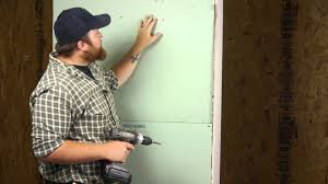 Install Curtain Rod Drywall How To Secure A Shower Curtain Rod Into Drywall Wall Repair