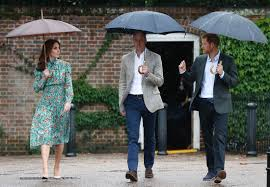 kensington palace william and kate william harry and kate remember princess diana at the white
