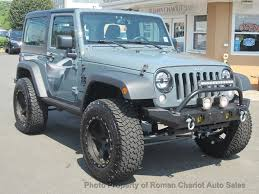 dark green jeep wrangler 2015 used jeep wrangler sport at roman chariot auto sales serving
