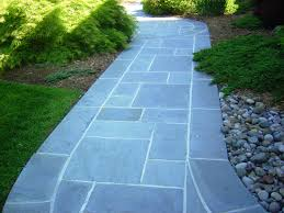 Interlocking Slate Patio Tiles by Flagstone Patio Installation Northern Virginia Custom Pavers