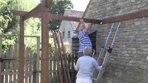 Pergola Ideas Uk by Perfect Pergolas Assembly Instructions Youtube