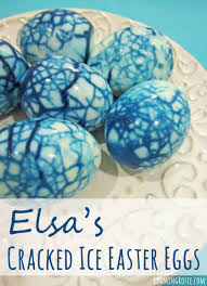 elsa u0027s frozen cracked ice easter eggs roaming rosie