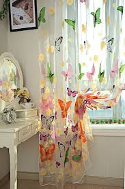 aliexpress com buy butterfly curtain for living room home decor