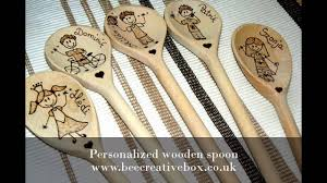 personalized spoons personalized wooden spoons