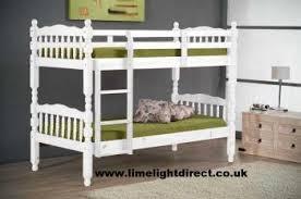 Solid Pine Bunk Beds Bunks Beds Uk Eldorado White Solid Pine Bunk Bed Sold At Trade