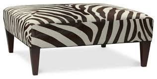 Zebra Ottoman Brilliant Zebra Print Ottoman Home Hold Design Reference Inside
