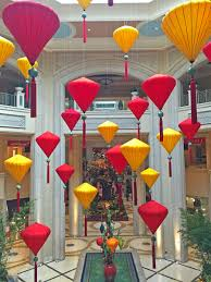 Lunar New Year 2016 Decorations by The Bellagio And Palazzo Ring In Chinese New Year Las Vegas Blogs