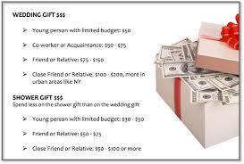 wedding gift amount wedding ideas