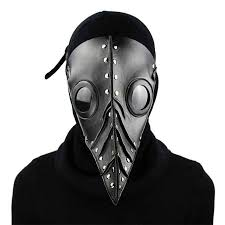 white plague doctor mask aliexpress buy corzzet black pu leather steunk mask