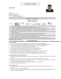 Sample Financial Controller Resume by Cost Controller Resume Binto Ouseph