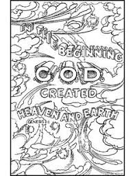 this free printable coloring sheet based on psalm 19 1