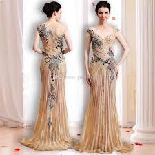 elegant vintage arab dubai evening dresses 2018 heavily embroidery