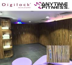 anytime fitness u003d convenience culture digilock locks and