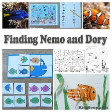 Finding Nemo Story Book For Children Read Aloud Finding Dory And Nemo Preschool Activities And Crafts Kidssoup