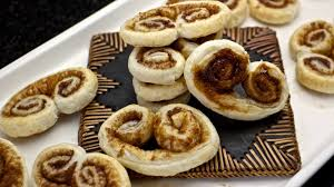 how to make easy elephant ears cookies palmiers using puff