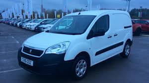 peugeot partner 2016 used vans for sale uk used car supermarket motordepot