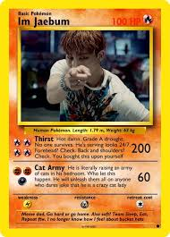 Pokemon Card Meme - fan makes the got7 pokémon cards nobody asked for but everyone