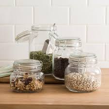 clear canisters kitchen clear glass kitchen canister sets uk adorable glass kitchen