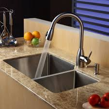 3 Bowl Undermount Kitchen Sink by Kitchen Sinks Wall Mount Sink Soap Dispenser Bottle Corner Brushed