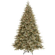 national tree company 12 ft dunhill fir hinged artificial