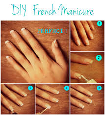 how to french manicure short nails at home u2013 great photo blog