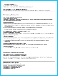 Sample Resume Objectives For Bank Teller by Sample Resume For Banking Operations Free Resume Example And