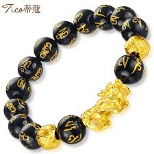 gold lucky bracelet images Atmospheric lucky gold bracelet men 39 s 999 gold six jpg