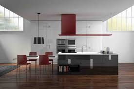 kitchen contemporary small italian kitchen design with wooden