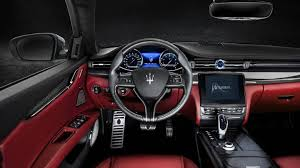 maserati models interior 2018 maserati quattroporte luxury sedan maserati usa