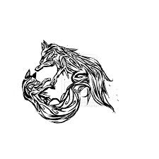fox tribal design