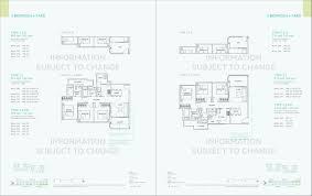 official site hundred palms residences ec floor plan e brochure hundred palms 3 bedroom floor plan