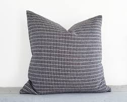 houndstooth home decor houndstooth pillow grey wool pillows grey red pillows gray