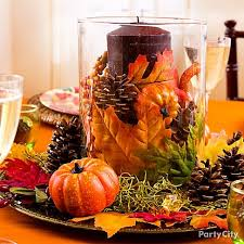 Thanksgiving Dinner Table Decorations Create A Beautiful Original Centerpiece Using Just A Few Simple